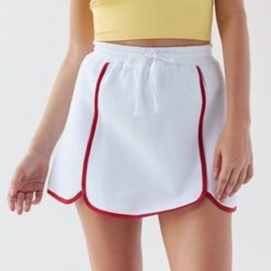 UO Out from Under Dolphin Hem Mini Skirt